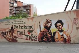 Anti-fascist mural, Clot, Barcelona