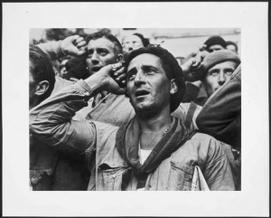 Robert Capa, farewell of the brigades 2