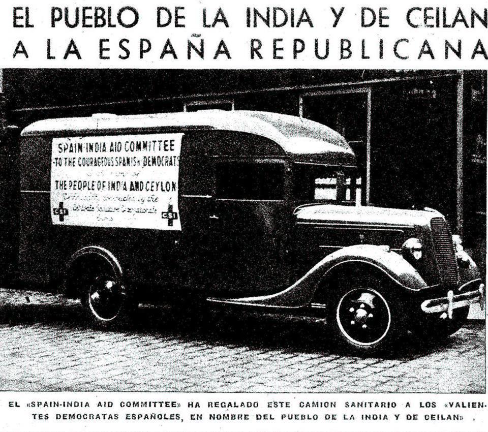 india in Spanish Civil War